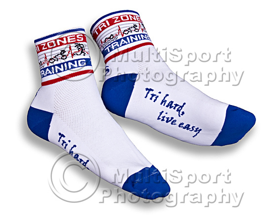 Socks Blue OnFoot