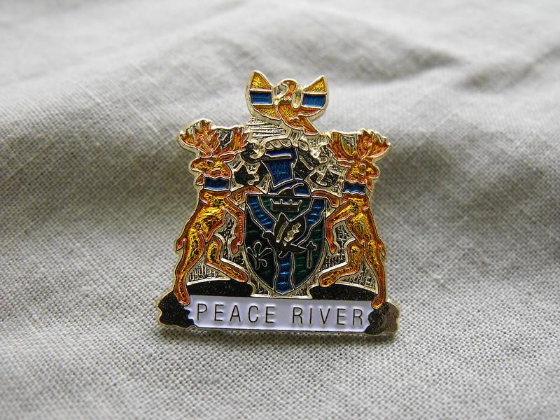 Peace River pin