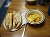 Texas Hot Dogs and the real specialty of the house - Mac & Cheese with meat sauce....mmmm.mmmmm.mmmmm