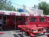 """Sara's is located right below Waldameer Park in Erie, PA at the entrance to Presque Isle.   <a href=""""http://www.sarasandsallys.com"""">http://www.sarasandsallys.com</a><br /> Sara's uses Smith natural casing hot dogs and has a nice fixing bar (excellent pickles and good selection of mustard).  Make sure to get the regular size not the footlongs - they cook/taste better."""