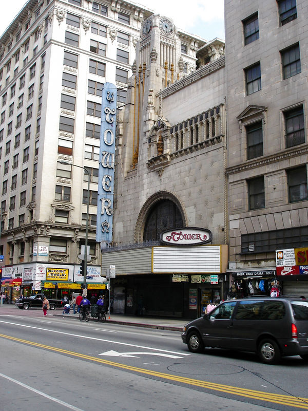 The Tower opened in 1927 and sat 900.  It is Spanish Moorish in design.  It's probably one of my favorite theater buildings.