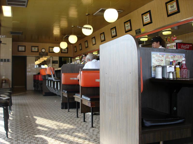 Classic Waffle house decor