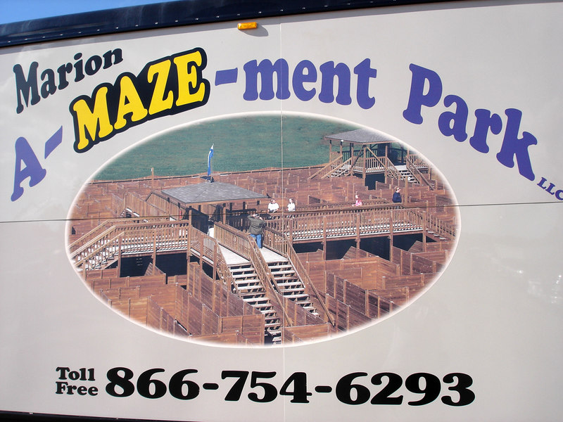 "Definitely will need to check this out next time!!! - <a href=""http://www.marionamazementpark.com/"">http://www.marionamazementpark.com/</a><br /> Looks very cool!"