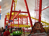 Opa - Mount Olympus indoor park's spinning Zamperla coaster.