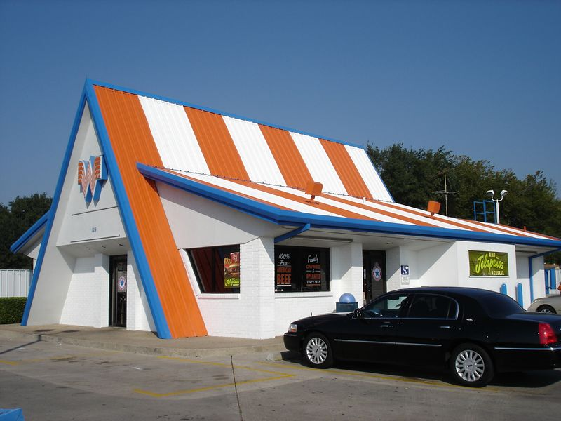 Whataburger - they all look like this!