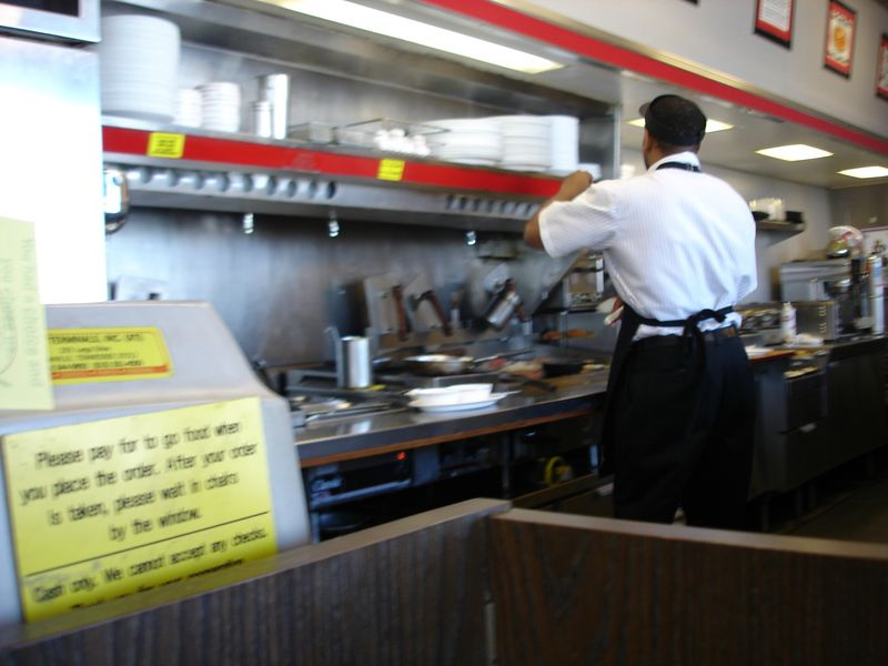Almost all Waffle Houses are identical (as too are their staffs).