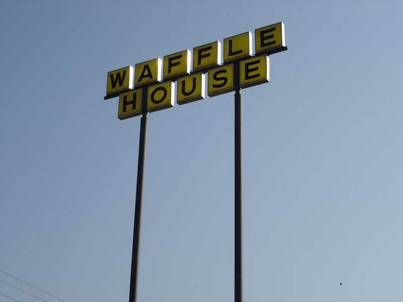 Waffle House - good bless Waffle H ouse