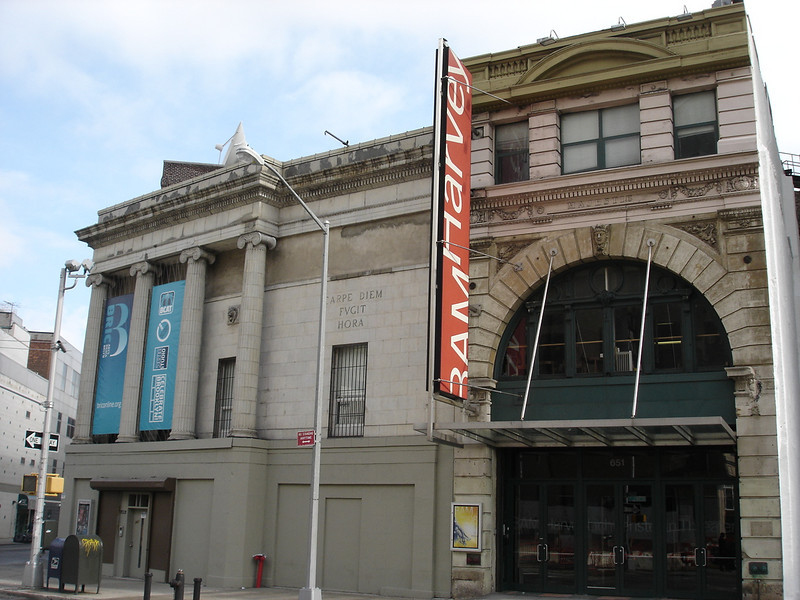 The BAM Harvey theater space.