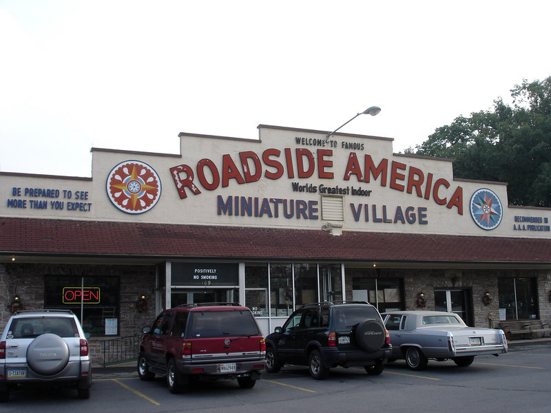 Roadside America is off Rte 78 - I've been by it many many times, but this was my first visit.