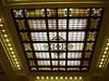 Stained Glass ceiling of Hoboken station