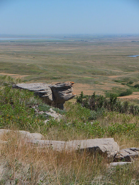 View east across the prairie