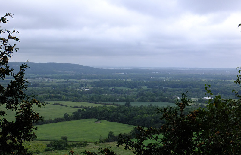 View toward Rattlesnake Point, which is an outlier of the Niagara Escarpment