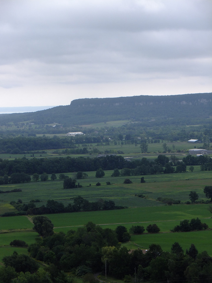 Here is the view of Mount Nemo from Rattlesnake Point