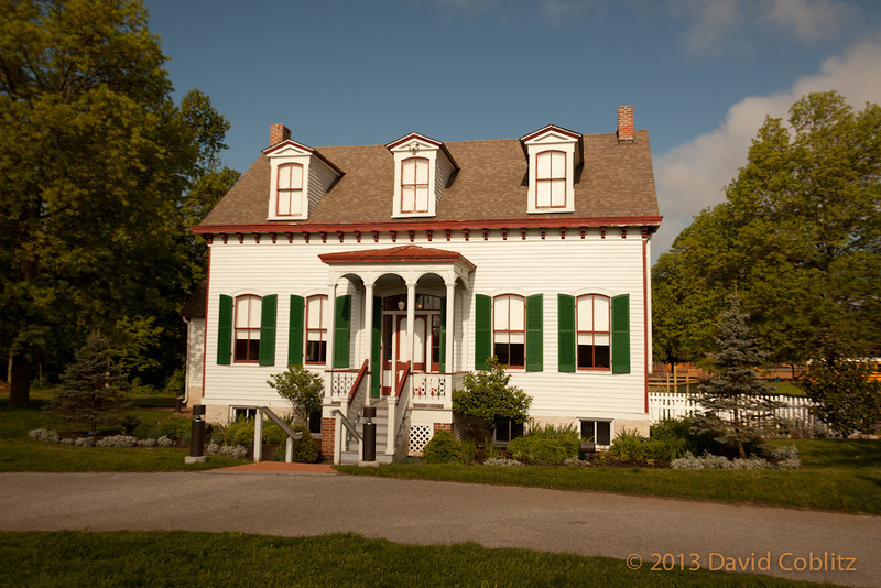 Tappmeyer House in Millenium Park, Creve Coeur, MO