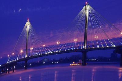 Clark Bridge morning - Alton, IL
