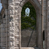 Roofless Church window