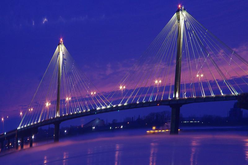 Clark Bridge Morning