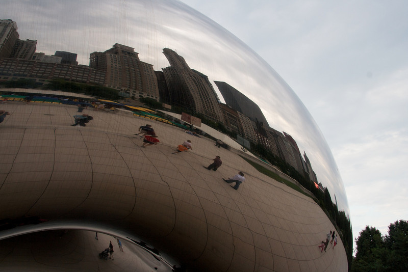 Chicago Cloud Sculpture
