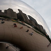 """The Cloud"" in Chicago's Millenium Park"