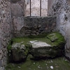 Brothel bed, Pompeii, Italy circa 70 AD