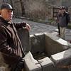 Pompeii, Italy, public water fountain circa 70AD