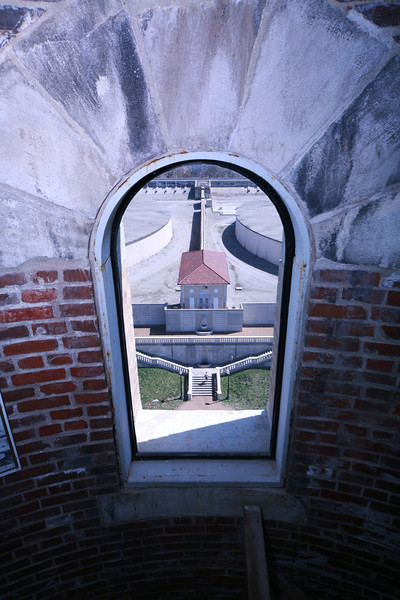 View from Compton Water Tower stairs
