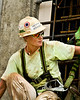 Megan Mackenzie model.  Carpenter for Missouri Women in Trades Calendar