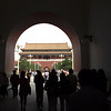 Entering the Forbidden City in Beijing China