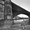 Eads' Bridge St. Louis - Black & White version