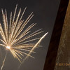 Arch with Fireworks