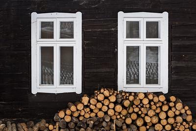 Architecture of Turiec region, Slovakia.