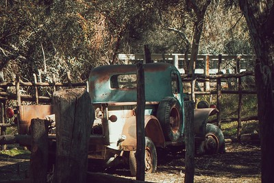 Rusted Power Wagon