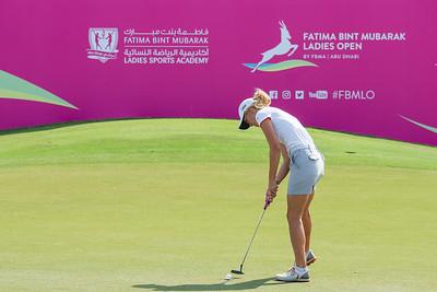 Olafia Kristinsdottir of Iceland during the first round