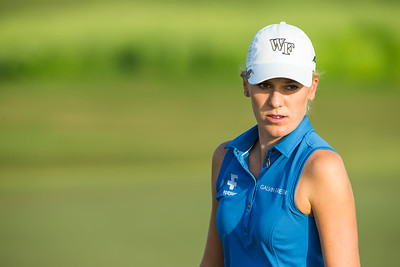 Olafia Kristinsdottir of Iceland during the second round