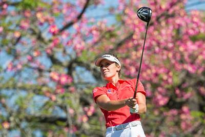 Olafia Kristinsdottir of Iceland during the third round