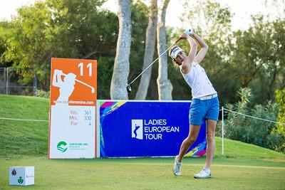 Olafia Kristinsdottir of Iceland during the final round