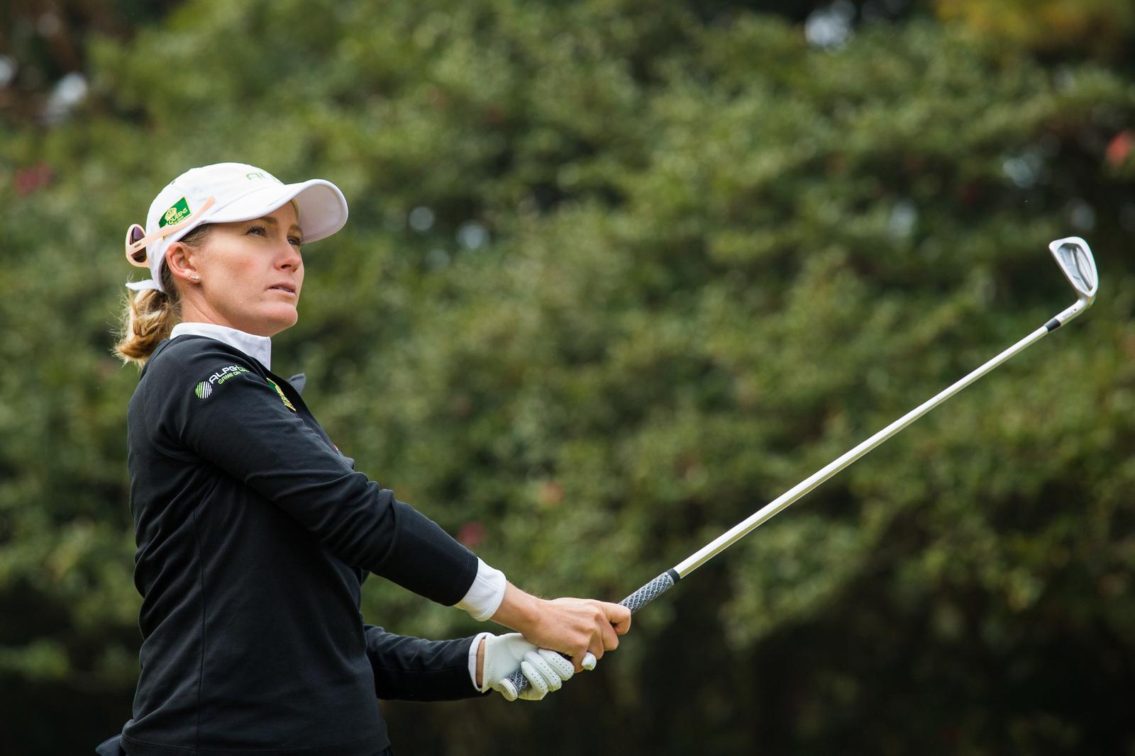 Sarah Jane Kenyon of Australia during a practice round