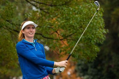 Florentyna Parker of England during a practice round