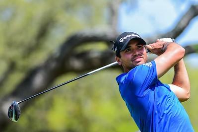26-03-16 PGA Tour 2016, WGC-Dell Match Play, Austin Country Club, Austin, TX, USA. 23 - 27 Mar.  Jason  Day of Australia watches his tee shot on number 8  during round 5.