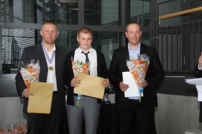 Ingi Rúnar Gíslason, Davíð Gunnlaugsson, Sigurpáll Geir Sveinsson,