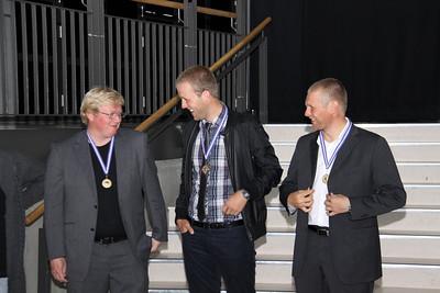 Örn Ævar Hjartarson, Magnús Lárusson, Ingi Rúnar Gíslason,