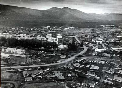 Посёлок Ягодный.Транспортная улица.