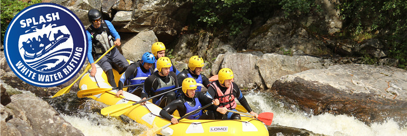 Splash  White Water Rafting Scotland Outdoor Adventure