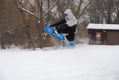 01-17-09 Snow MTB