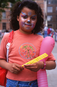 Dimanche 30/04/1994.  La fille des restaurateur du Keur Samba.  Je ne sais plus comment elle s'appelle.
