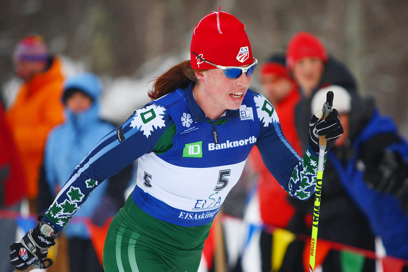Photo Credit: Lincoln Benedict / EISA<br /> <br /> Rosie Brennan cruses to victory at the 2009 Middlebury Carnival