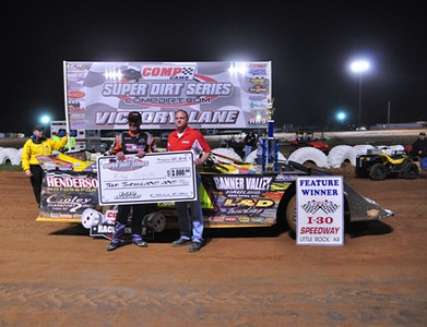 Comp Cams Super Dirt Series Late Model Feature Winner--#21 Billy Moyer