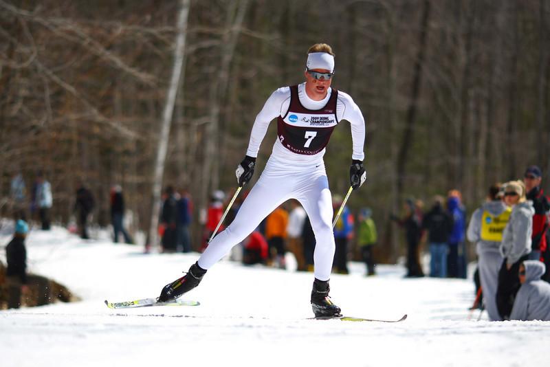 Photo Credit: Lincoln Benedict<br /> <br /> University of Colorado skiier Vegard Kjoelhamar