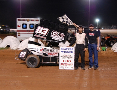 600/Mini-Sprint Feature Winner #83 Karlas Stephens