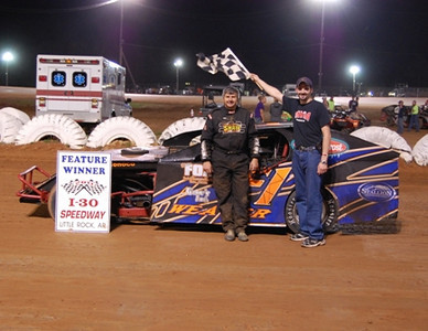 IMCA Feature Winner #F1 Randy Weaver